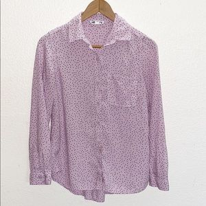 💛 beachlunchlounge  Polka Dot Button Front Top